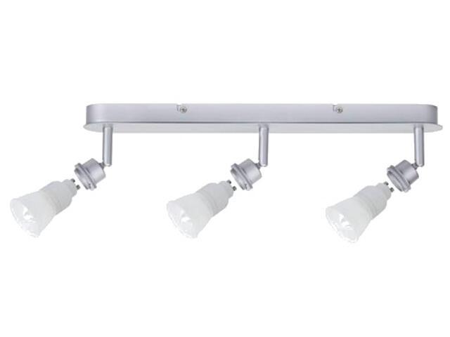 Oprawa ścienno-sufitowa DecoSystems ESL 3x7W GU10 aluminium mat Paulmann