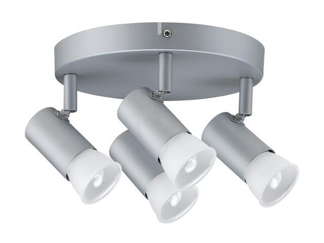 Lampa sufitowa A10 4x7W GU10 230V chrom mat metal Paulmann