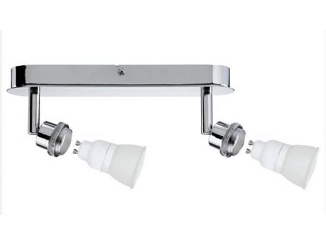 Lampa sufitowa DecoSystem 2x7W GZ10 230V chrom metal Paulmann
