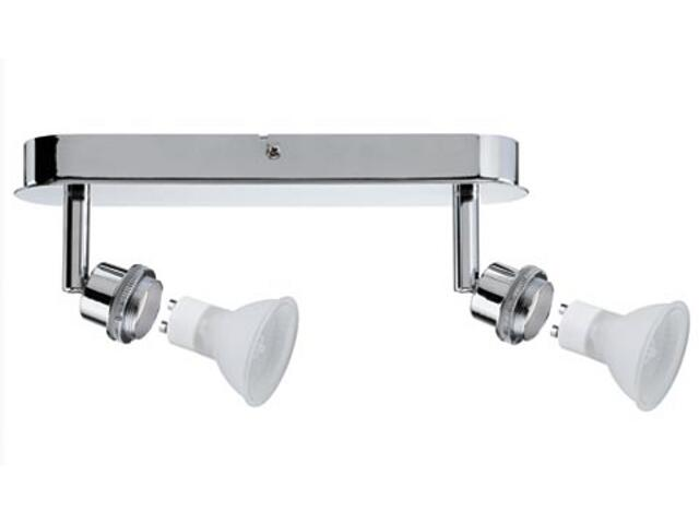 Lampa sufitowa DecoSystem 2x40W GZ10 230V chrom metal Paulmann