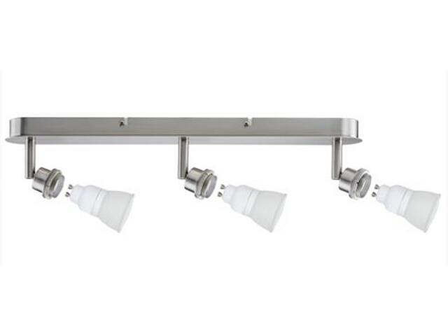 Lampa sufitowa DecoSystem 3x7W GZ10 230V żelazo satynowe metal Paulmann