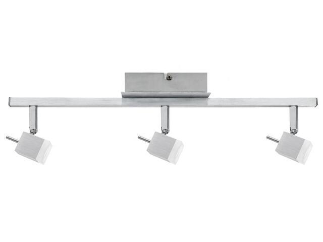 Lampa sufitowa QuadLed listwa 3x3W alu 230V / 12V metal / szkło Paulmann