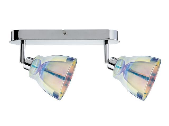 Lampa sufitowa Dichroic listwa 2x40W GZ10 Chrom/Dichroic 230V Paulmann
