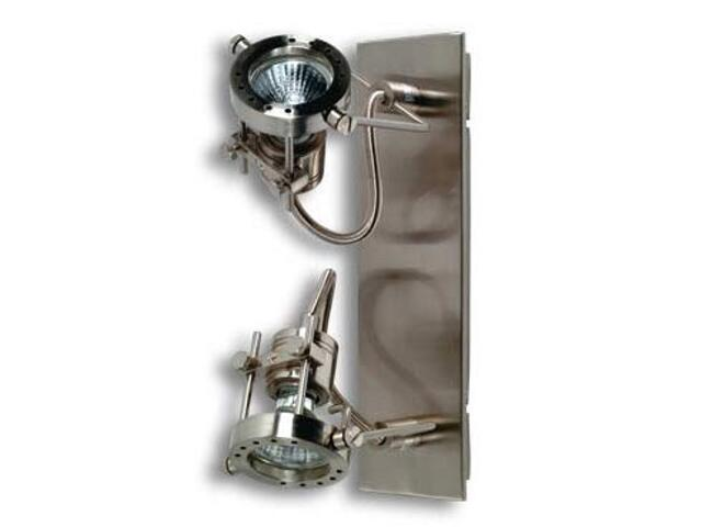 Lampa sufitowa Techno żelazo satynowe 2x50W Paulmann