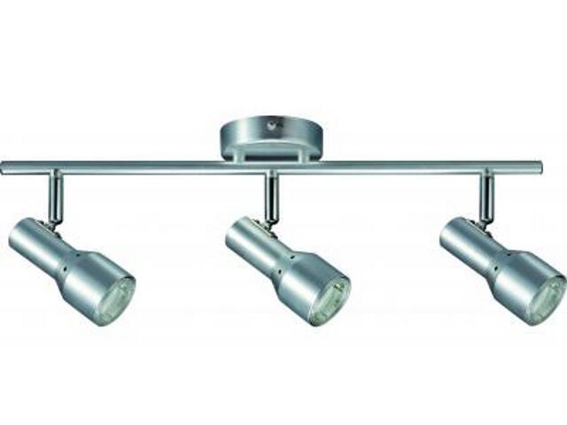 Oprawa ścienno-sufitowa PALU energooszczędna 3x11W GU10 aluminium Paulmann