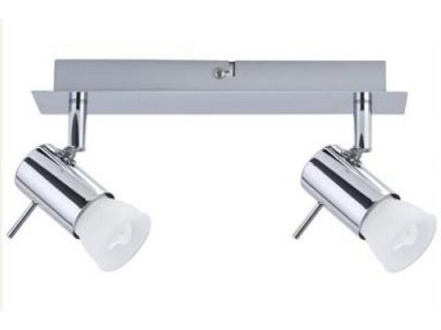 Lampa sufitowa Isa energooszczędna 2x7W GU10 chrom Paulmann
