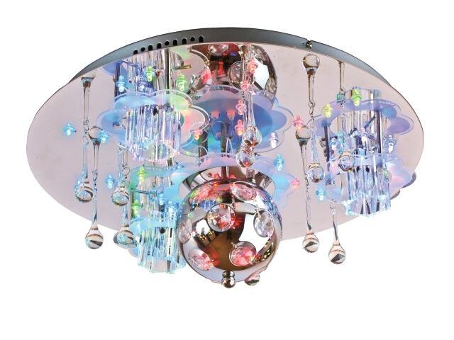 Lampa sufitowa Disco Fever z pilotem 4xG4 20W + LED 63600306 Reality