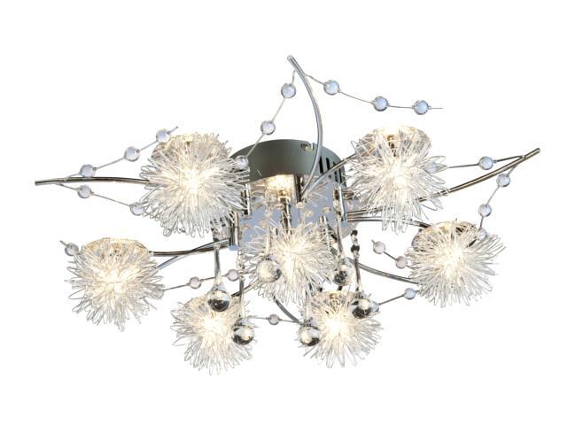 Lampa sufitowa Chris 7xG4 20W + 36LED 63840706 Reality