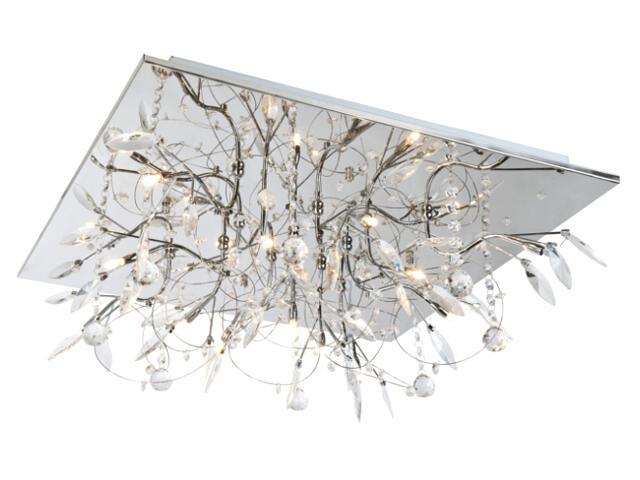 Lampa sufitowa Crystal 9xG4 20W + 36LED 63830906 Reality