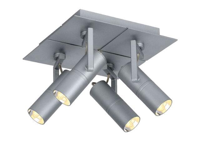 Lampa sufitowa Titto 4x7W GU10 12929/74/36 Lucide