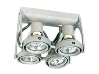 Lampa sufitowa PROTO 40 szary Brilum
