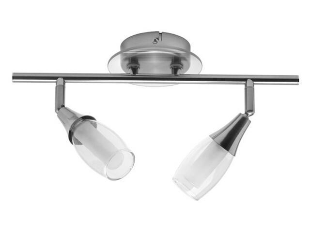 Lampa sufitowa HALI 2I 2x40W satynowy chrom Kanlux