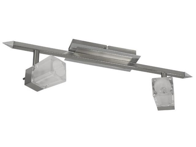 Lampa sufitowa GINA EL-2I 2x40W satynowy chrom Kanlux