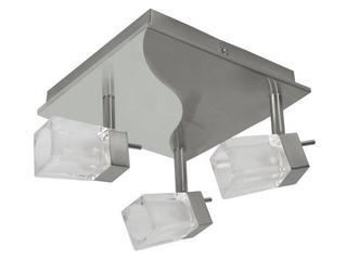 Lampa sufitowa GINA EL-3L 3x40W satynowy chrom Kanlux
