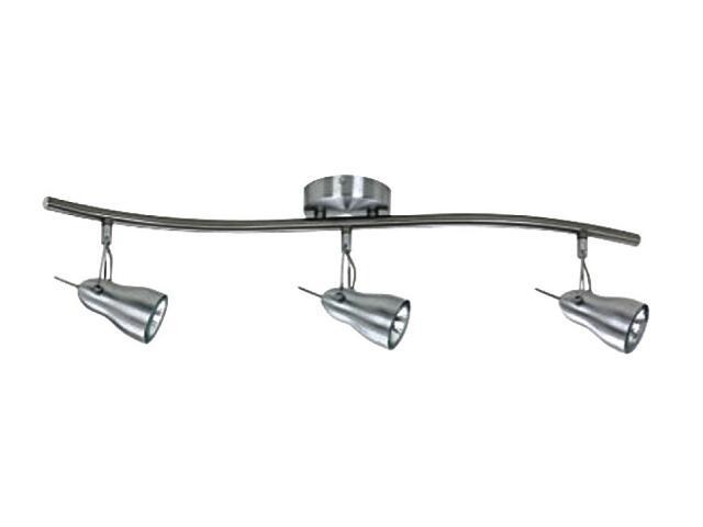 Oprawa ścienno-sufitowa XENIA 13 3x50W GU10 fala aluminium Sanneli Design