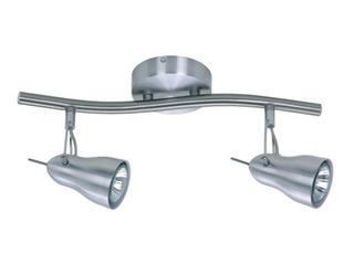 Oprawa ścienno-sufitowa XENIA 12 2x50W GU10 fala aluminium Sanneli Design
