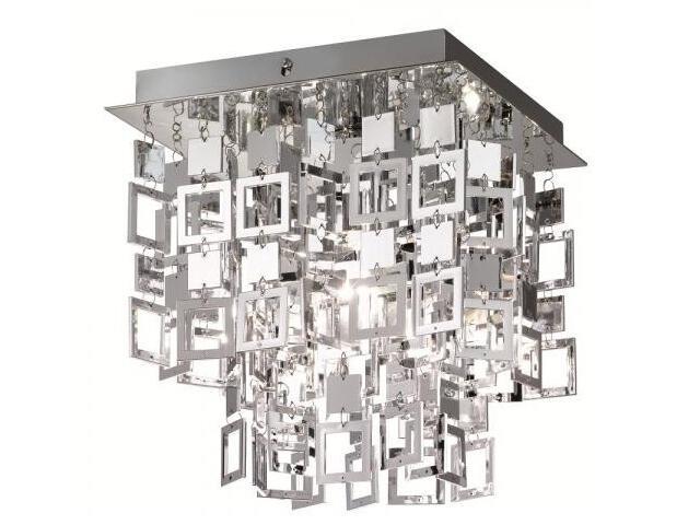Lampa sufitowa Quadrato 1xE27 60W 607001-06 Reality