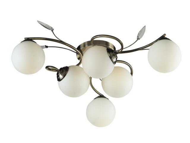 Lampa sufitowa Cynthia 6xE27 40W C970102-6RT Reality