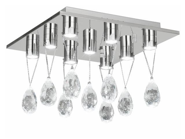 Lampa sufitowa Kristall Drop 9x3W LED 749025-9 Reality