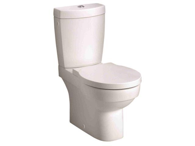 Kompakt WC VARIUS z odpływem uniwersalnym Reflex K39000900 Koło