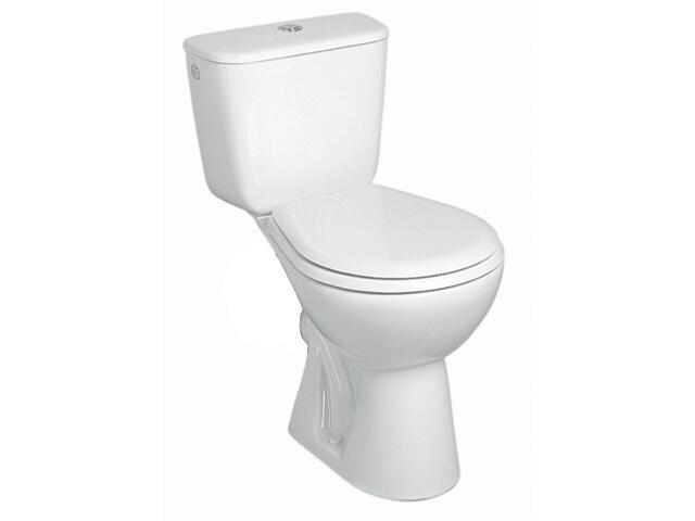 Kompakt WC NOVA z półką odpływ poziomy 29204000 Koło