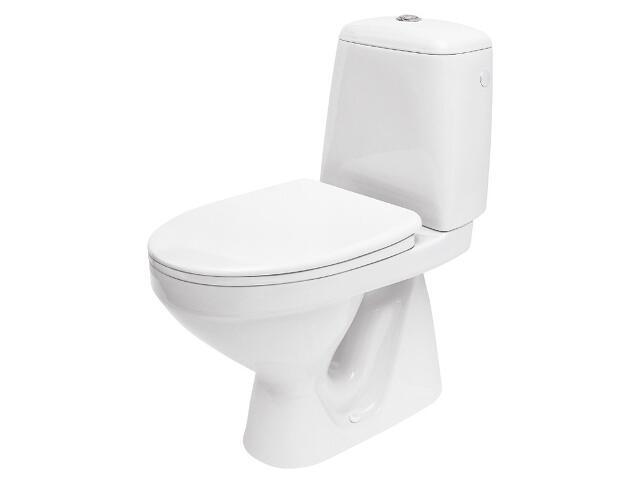 Kompakt WC EKO E020 3/6L z deską Eko Plus wolnoopadającą w kartonie K07-107