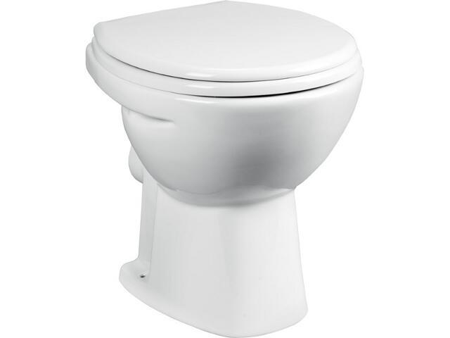 Miska WC stojąca do systemów podtynkowych MADALENA odpływ poziomy A34429500S Roca Zoom