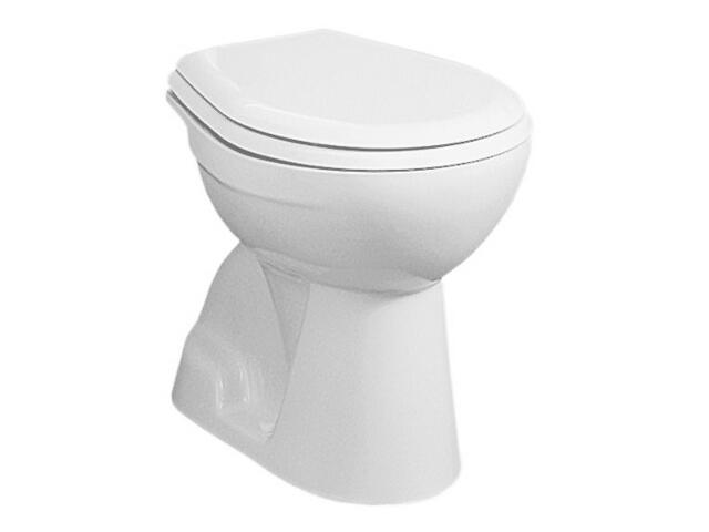 Miska WC stojąca do systemów podtynkowych NOVA lejowa stropowa biała 23001000 Koło