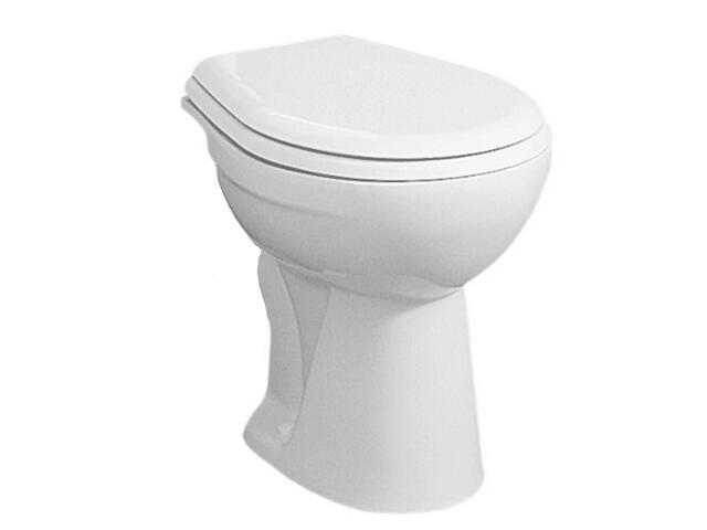 Miska WC stojąca do systemów podtynkowych NOVA z półką biała 23010000 Koło
