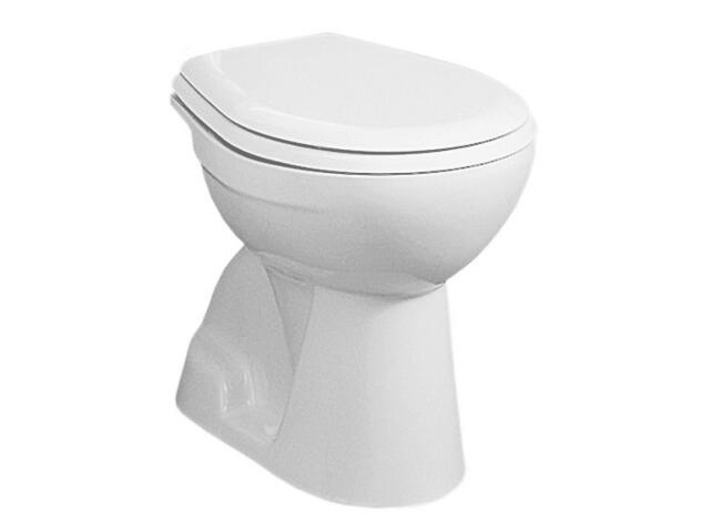 Miska WC stojąca do systemów podtynkowych NOVA z półką stropowa biała 23011000 Koło