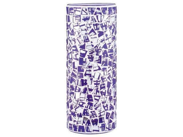 Klosz 2Easy Fabro mozaika niebieska Paulmann