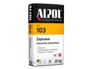 Zaprawa murarska cementowa AZ103 25kg Alpol