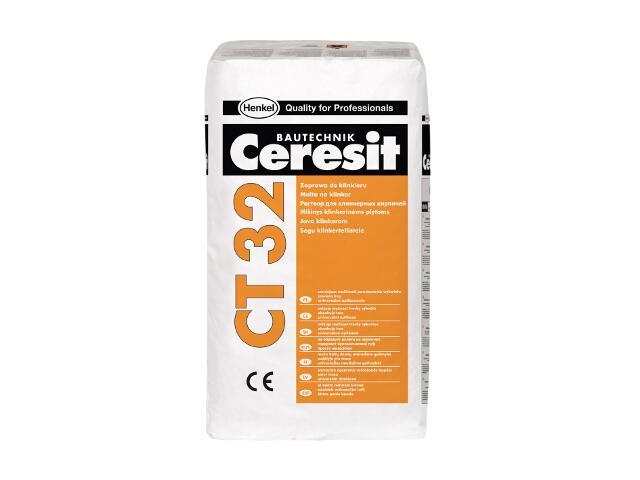 Zaprawa do klinkieru Ceresit CT 32 kasztan 25kg