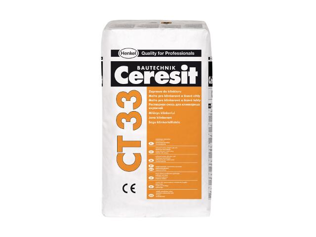 Zaprawa do klinkieru Ceresit CT 33 grafit 25kg