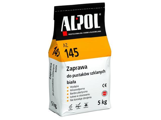 Zaprawa do pustaków szklanych biała AZ145 5kg Alpol