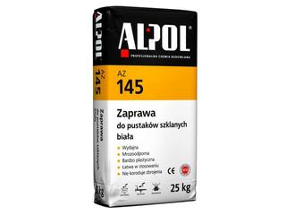 Zaprawa do pustaków szklanych biała AZ145 25kg Alpol