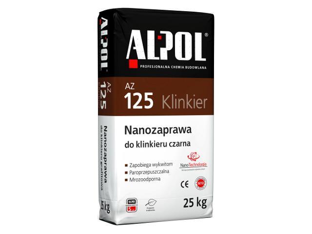 Nanozaprawa do klinkieru czarna AZ125 25kg Alpol