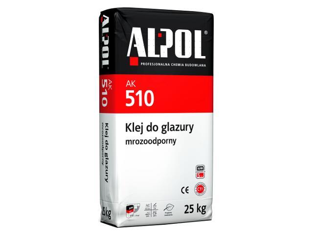 Zaprawa klejowa do płytek mrozoodporna AK510 25kg Alpol