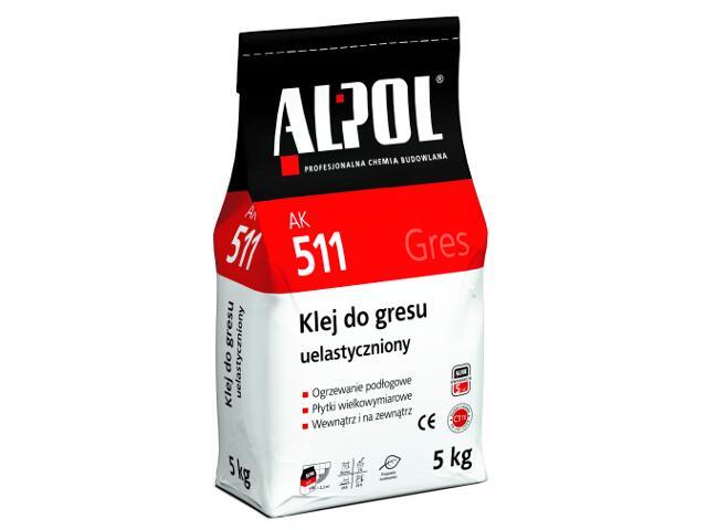 Zaprawa klejowa elastyczna do gresu AK511 5kg Alpol