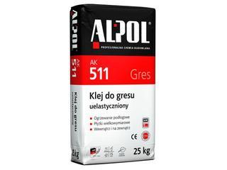 Zaprawa klejowa elastyczna do gresu AK511 25kg Alpol