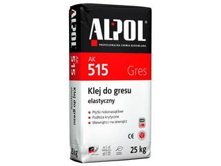 Zaprawa klejowa elastyczna do gresu AK515 25kg Alpol