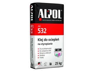 Zaprawa klejowa do zatapiania siatki zbrojeniowej AK532 25kg Alpol