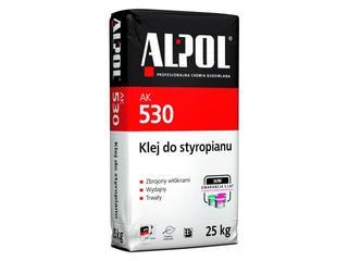 Zaprawa klejowa do ociepleń na styropianie AK530 25kg Alpol