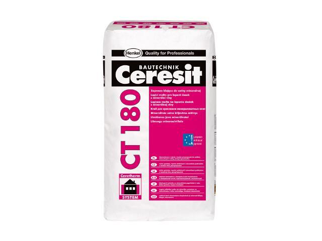 Zaprawa klejowa do ociepleń na wełnie Ceresit CT180 25kg