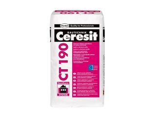 Zaprawa klejowa do ociepleń na wełnie Ceresit CT190 25kg