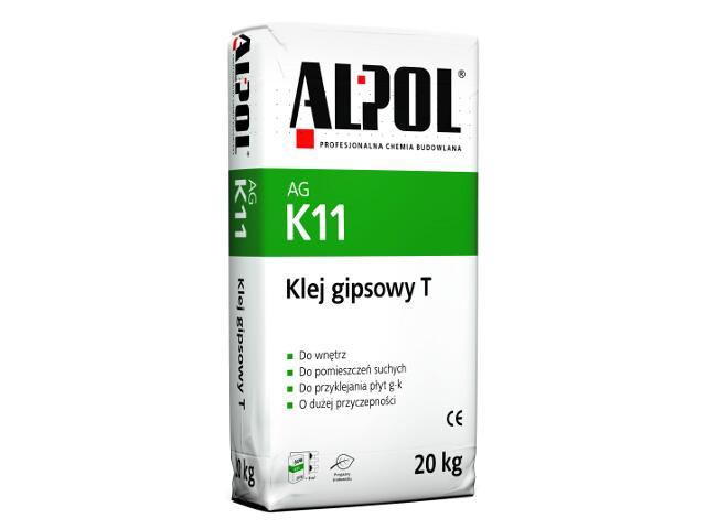 Klej gipsowy T AGK11 20kg Alpol