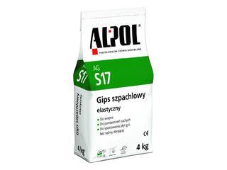 Gips szpachlowy elastyczny AGS17 4kg Alpol