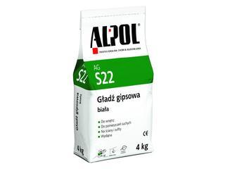 Gładź gipsowa biała AGS22 4kg Alpol