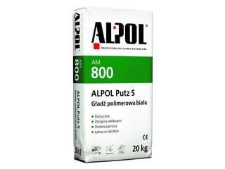 Gładź gipsowa Putz S polimerowa AM800 20kg Alpol