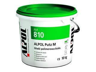 Gładź gipsowa Putz M polimerowa AM810 10kg Alpol